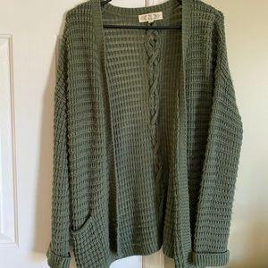 Nordstrom Green sweater